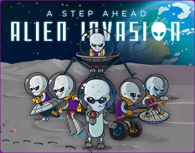 A Step Ahead: Alien Invasion Help